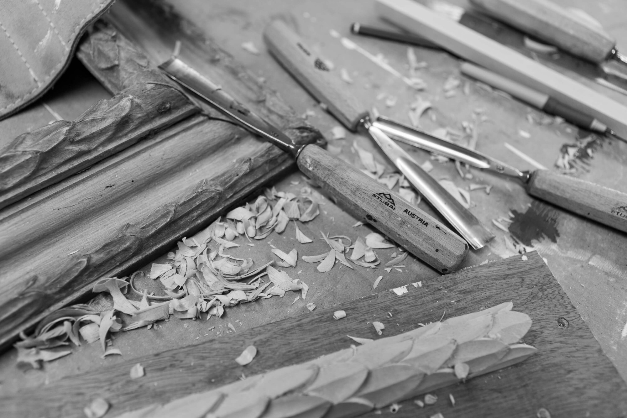 At Bourlet we have two in-house carvers.