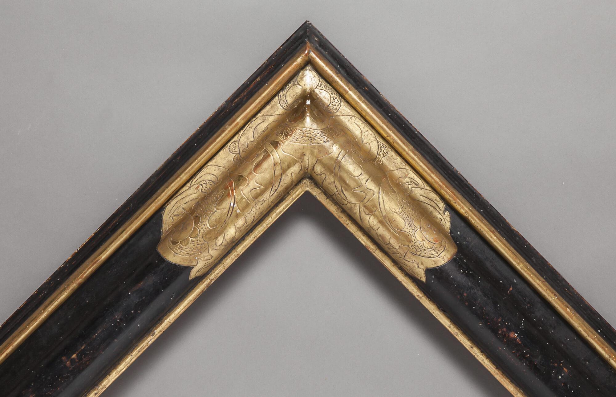17th Century Reverse with corner details