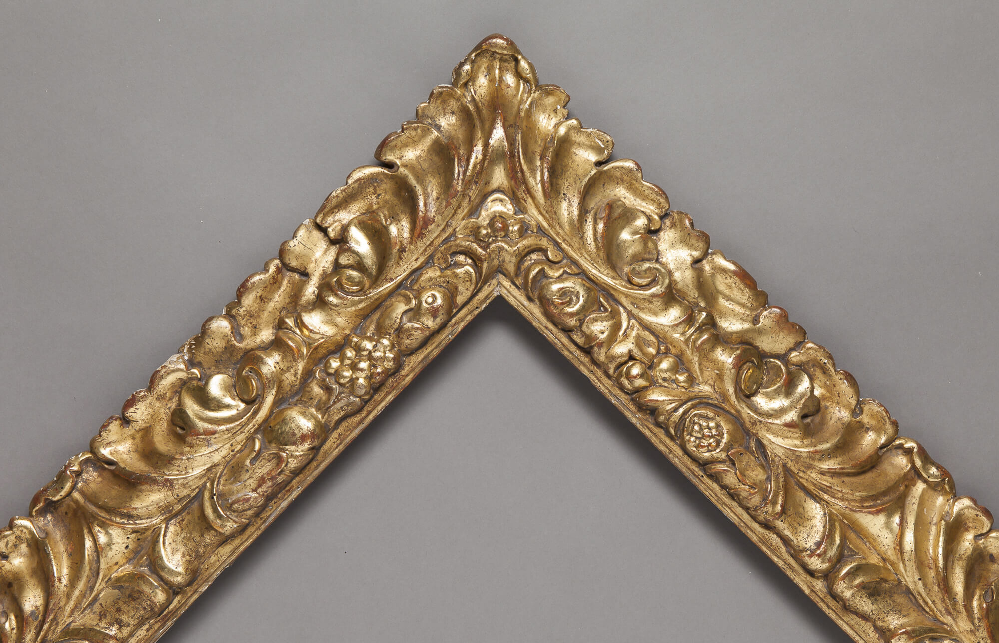 18th Century Hand-carved and Gilded Frame